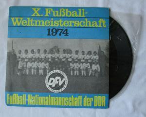 Schallplatte Fußball-Weltmeisterschaft 1974 WM Song der DDR (100299)