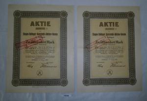 1200 Mark Aktie Siegen-Solinger Gussstahl Aktien Verein Februar 1923 (129258)