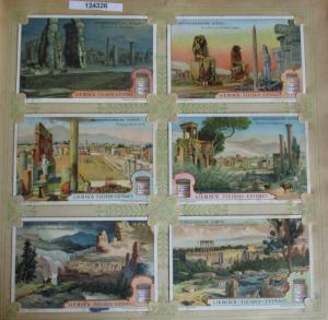 C124326 Liebigbilder Serie Nr. 548 Untergegangene Städte 1902