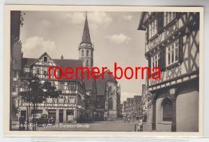 68740 Ak Schorndorf Gottlieb Daimler Strasse um 1943