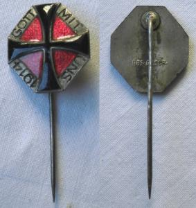 Abzeichen Patriotisches Kriegskreuz 1.Weltkrieg - Gott mit uns 1914 (105388)