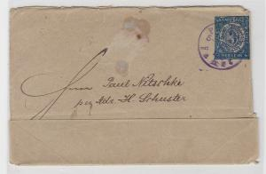 85575 Privatpost Ganzsachenbrief Berliner Omnibus & Packetfahrt AG 1887