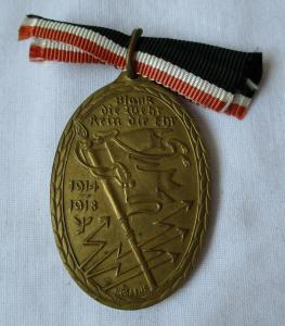 Orden Kyffhäuser-Denkmünze für 1914/18 am Band (111653)