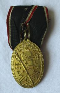 Orden Kyffhäuser-Denkmünze für 1914/18 am Band (110593)