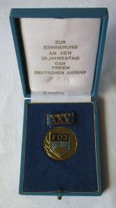Medaille Zur Erinnerung 25. Jahrestag der FDJ Freie Deutsche Jugend (108839)