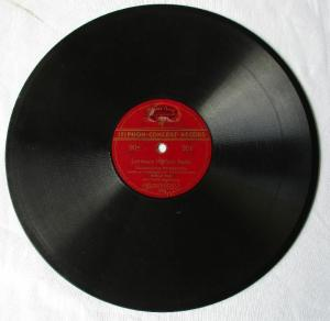 118150 Isiphon Schellackplatte Lehmann legt sich Radio / Auf dem Standesamt
