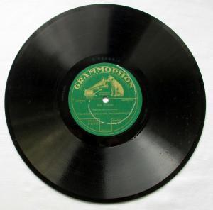 124718 Grammophon Schellackplatte Am Kamin & Casanova, ich lieb' dich um 1930