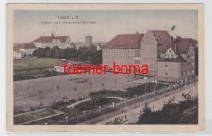 69880 Ak Lissa in Posen Lehrer- und Lehrerinnen-Seminar 1917