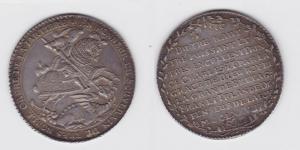 1 Taler Silber Münze Sachsen-Albertinische Linie Johann Georg II. 1678 (117282)
