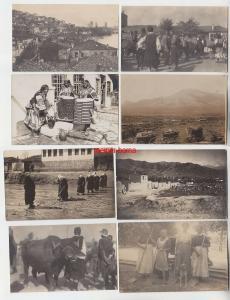 72321 / 7 Foto Ak Balkan 1. Weltkrieg 1916