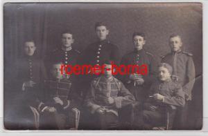 83869 Foto Ak Karabinier und Husaren um 1915