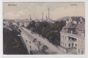 90360 Ak Warnsdorf Hauptstrasse um 1910