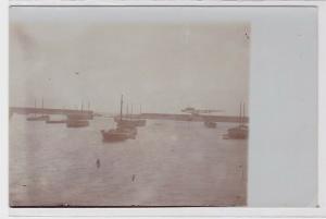 41847 Foto Ak Leixões Portugal - Hafenmauer 1914