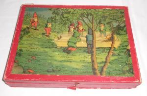Altes Würfel Puzzle