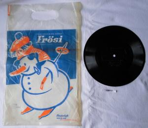 100010 Schallfolie und Plastiktüte zum Frösi Sonderheft Januar 1968