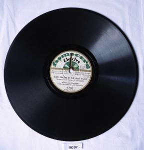 103361 Schellackplatte