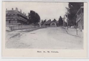 83865 Ak Mount Victoria (Wellington) Neuseeland Main Street 1914