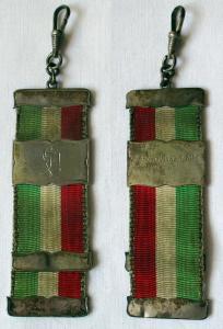 Alter Studentika Bierzipfel 800er Silber Verbindungsinitialen 1925 (112379)