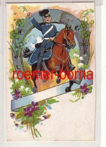 72746 Feldpost Ak Dragoner Offizier zu Pferd im 1.Weltkrieg 1915