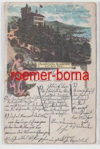 78067 Ak Gruss vom St. Anna-Schloss bei Rorschach 1906