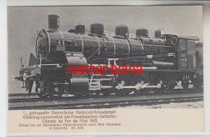 72168 Ak Güterzug Lokomotive der Französische Ostbahn um 1912