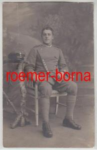 73980 Foto Ak Soldat Garde Ulanen Regiment 1.Weltkrieg