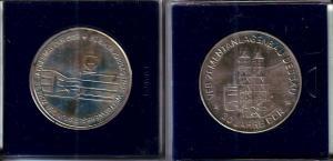 DDR Medaille 30 Jahre DDR VEB Zementanlagenbau Dessau 1979 (110968)