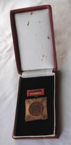 DDR Orden Brigade der sozialistischen Arbeit im Original Etui (120481)