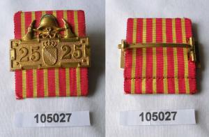 Baden Ehrenzeichen für 25 Jahre in der freiwilligen Feuerwehr (105027)