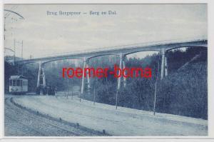 82967 Ak Brug Bergspoor Berg en Dal Niederlande 1914