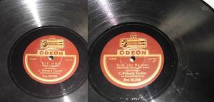 111381 Schellackplatte Odeon