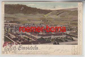 35434 Ak Lithografie Gruss aus Einsiedeln Schweiz 1902