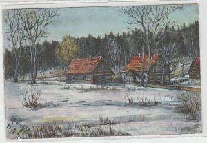 69603 Feldpost Ak Felpost in Jursdiki Gouvernement Minsk 1917
