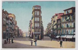 80907 Ak Porto Portugal - Praça de Almeida Garrett 1914