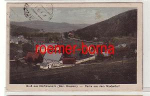 79708 Ak Gruß aus Dorfchemnitz (Bez.Dresden) Partie aus dem Niederdorf um 1920
