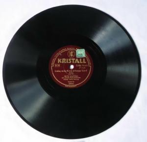 110071 Schellackplatte