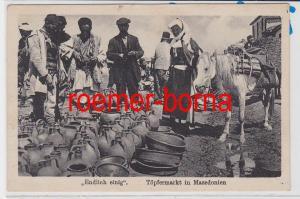 85995 Ak Töpfermarkt in Mazedonien