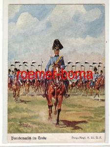 79510 Ak Dragoner Regiment 2 III.A.K. Pardemarsch im Trabe um 1930