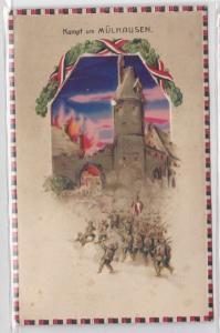 87802 Halt gegen das Licht Ak Festung Namur vor dem Fall 1. Weltkrieg