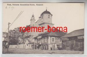 78772 Ak Pinsk Weissrussland Benediktiner Kirche Kiewerstraße 1917