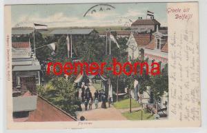 77958 Ak Niederlande Groete uit Delfzijl Plantsoen 1907