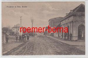 69265 Ak Pozdrav iz Bos. Broda Bos. Brod um 1910