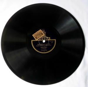 111615 Schellackplatte Odeon