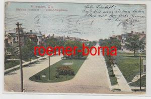 61336 Ak Milwaukee Wis. Highland Boulevard - Highland Ringstrasse 1906