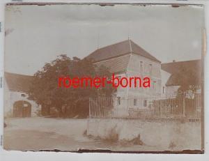 76938 Original Foto Schweta bei Mügeln Gasthaus um 1930