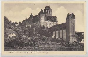 67851 Ak Marienwerder in Westpreussen Blick auf das Schloß 1942