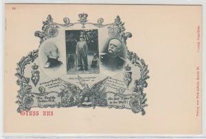70752 Ak Erinnerung an den Kanzler Fürst von Bismarck um 1898