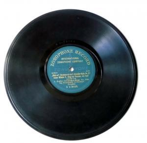 112086 Schellackplatte I. Leib-Grenadier-Regt. No. 100 Dresden um 1930