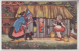 45950 Märchen Ak Hänsel und Gretel 1931