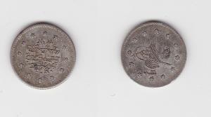 1 Kuru Silber Münze Türkei um 1910 (134618)